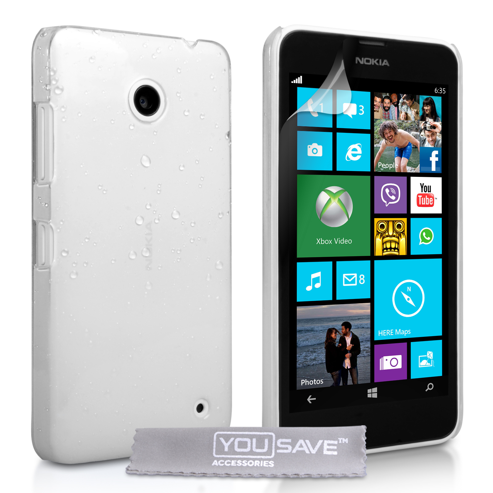 Θήκη Nokia Lumia 630/635 by YouSave (Z541)