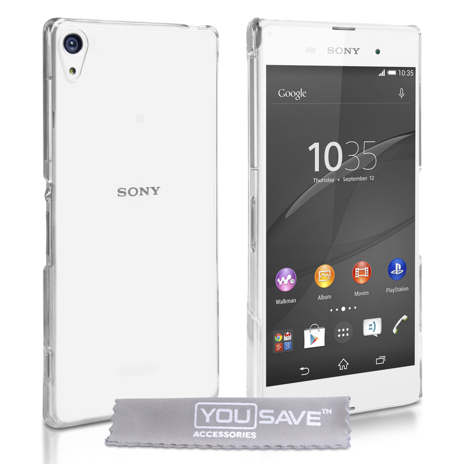 Διάφανη Θήκη Sony Xperia Z3+/Z4 by YouSave (Z066)