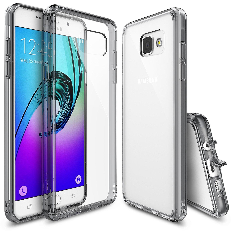 Rearth Ringke Σκληρή Θήκη Slim Samsung Galaxy A3 II (2016) - Smoke Black (56875)