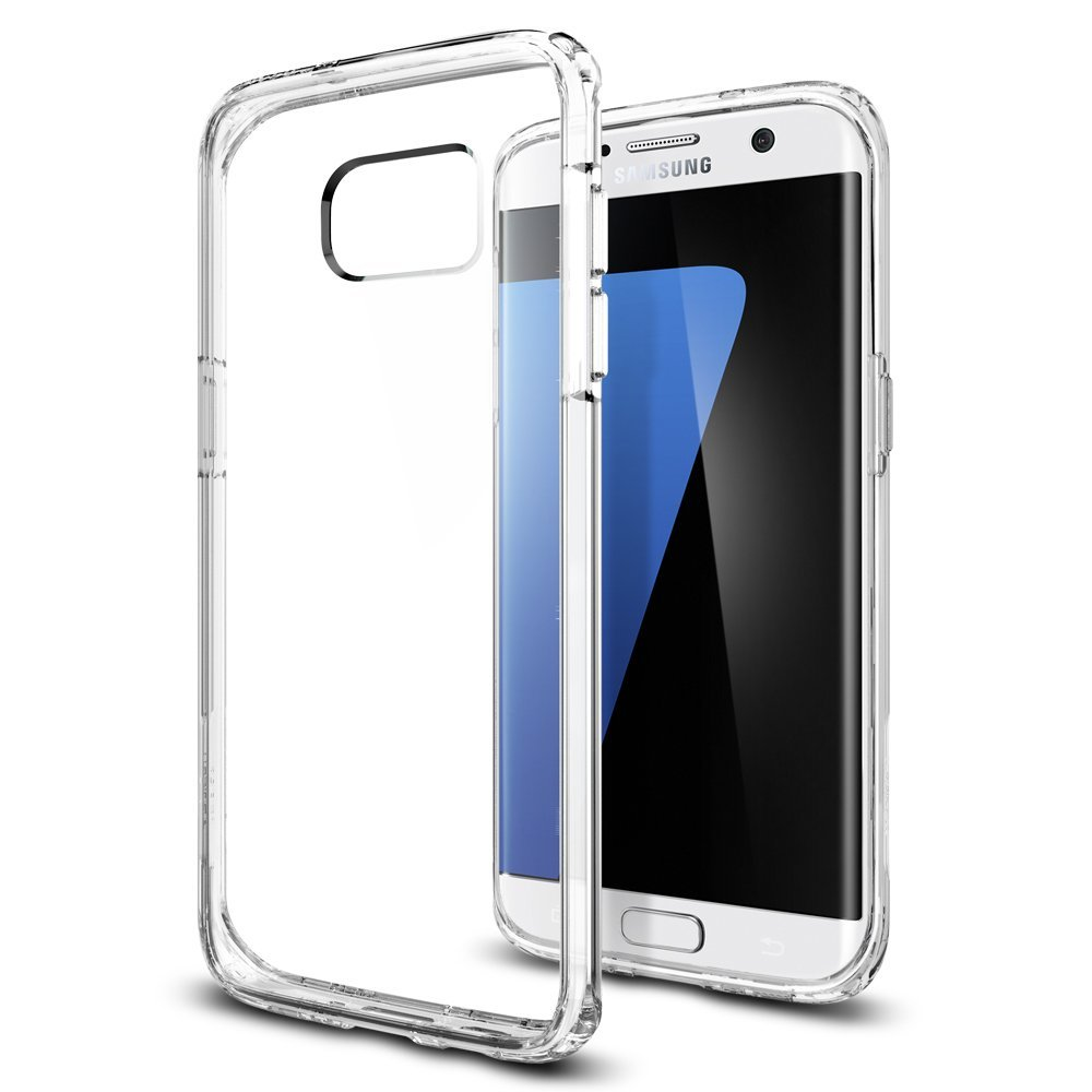 Spigen Θήκη Ultra Hybrid Samsung Galaxy S7 Edge - Clear (556CS20034)