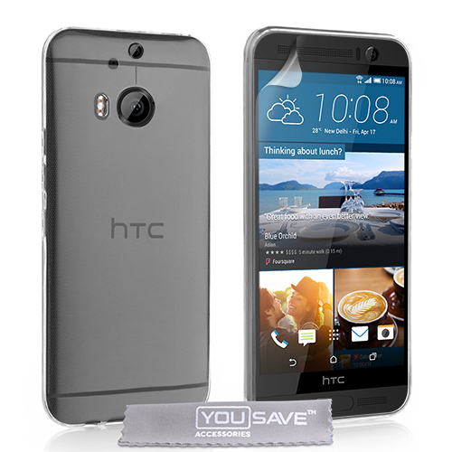 Διάφανη Θήκη HTC One M9 Plus by Yousave (Z003)