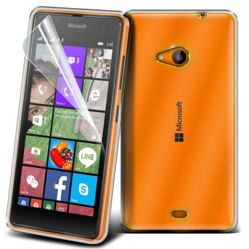 Διάφανη Θήκη Microsoft Lumia 540 (018-001-540) - OEM
