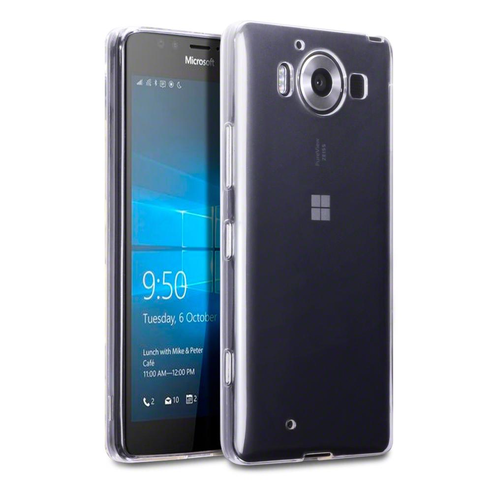 Διάφανη Θήκη Microsoft Lumia 950 by Terrapin (118-116-011)