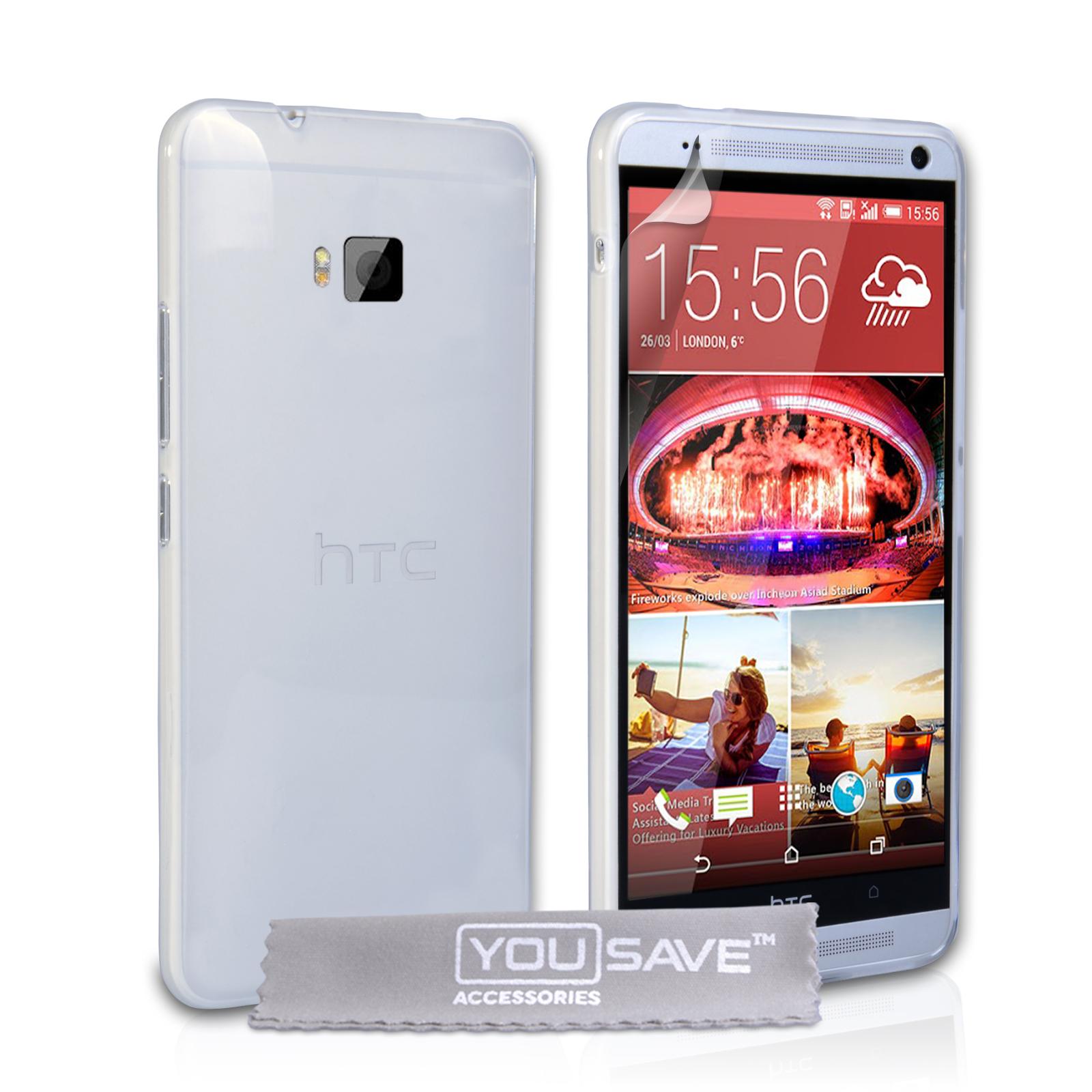 Διάφανη Θήκη HTC One M9 by YouSave (Z855) θήκες κινητών