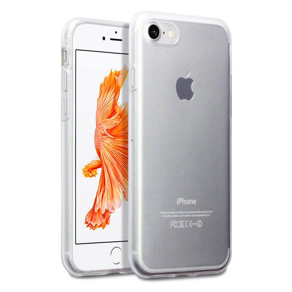Terrapin Διάφανη Θήκη Σιλικόνης iPhone 8 / 7 (118-122-002) - Clear