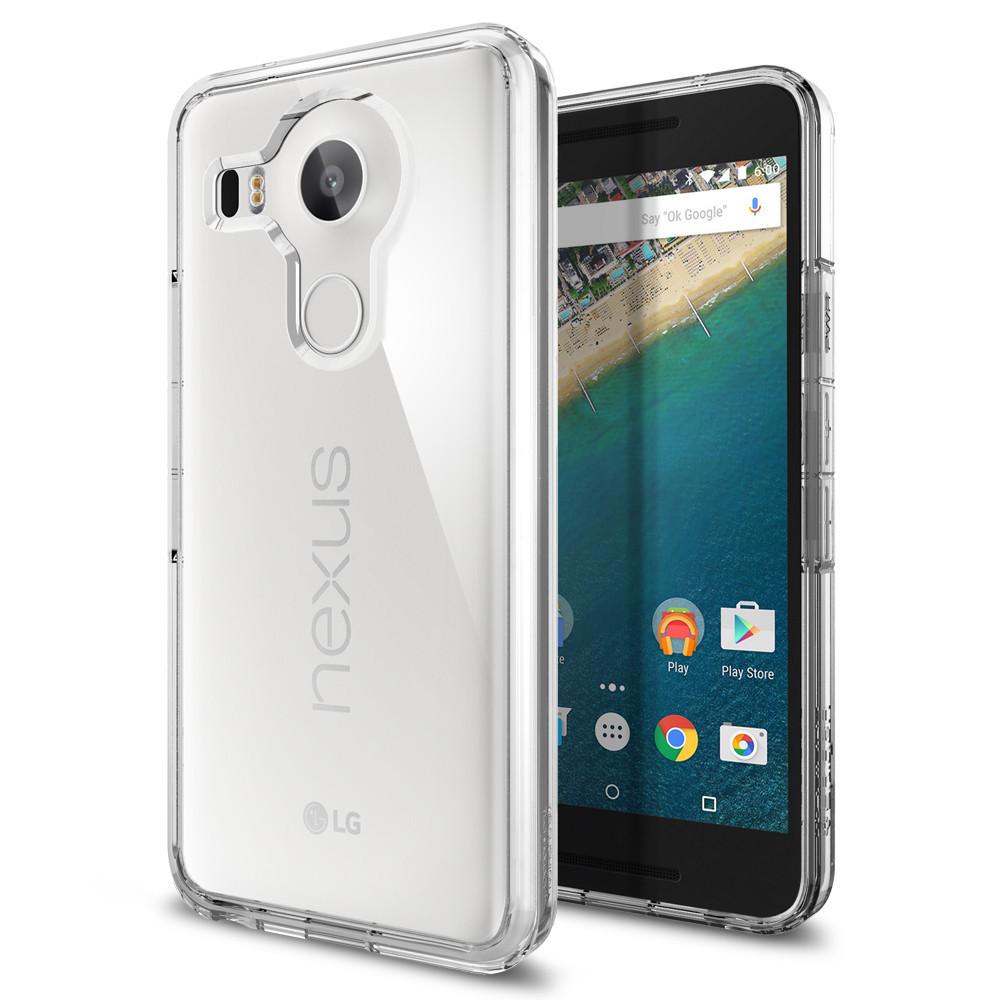 Spigen Θήκη Ultra Hybrid LG Google Nexus 5X - Crystal Clear (SGP11759)