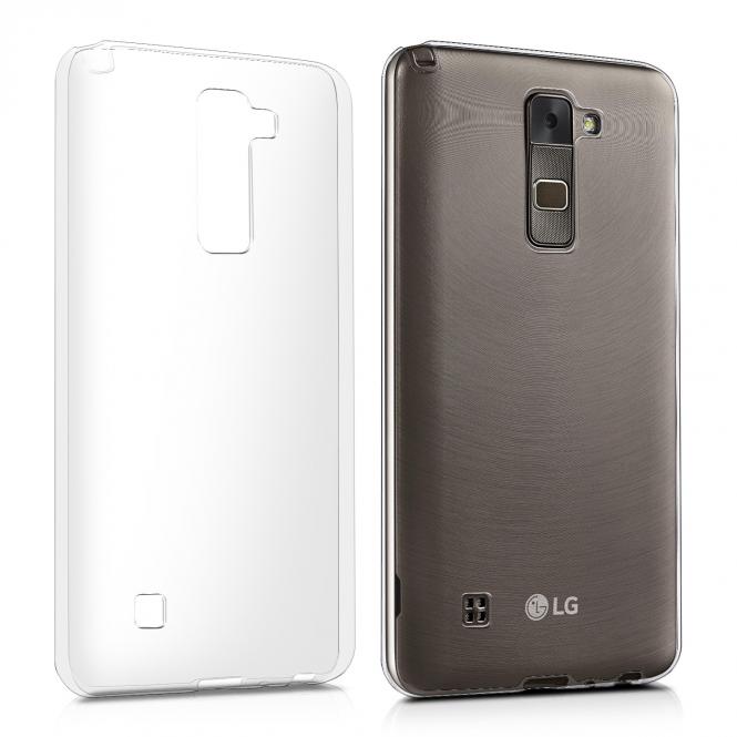 KW Διάφανη Θήκη Σιλικόνης LG Stylus 2 (39036.03)