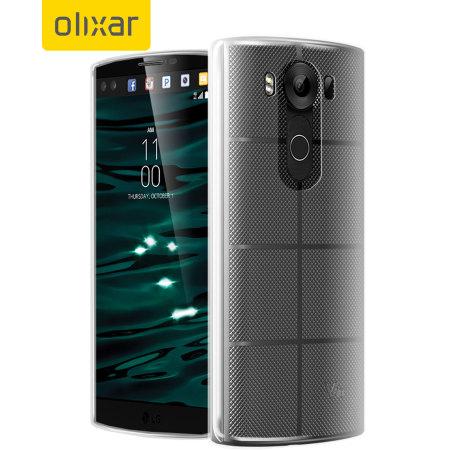 Ultra-Thin Διάφανη Θήκη LG V10 by Olixar (56064)