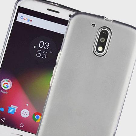 Olixar Ultra-Thin Διάφανη Θήκη Σιλικόνης Motorola Moto G4 / G4 Plus (59678)