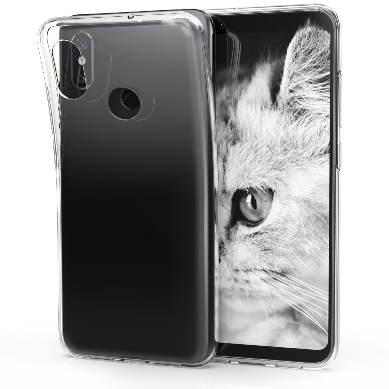 KW Διάφανη Θήκη Σιλικόνης Xiaomi Mi 8 - Transparent (45441.03)