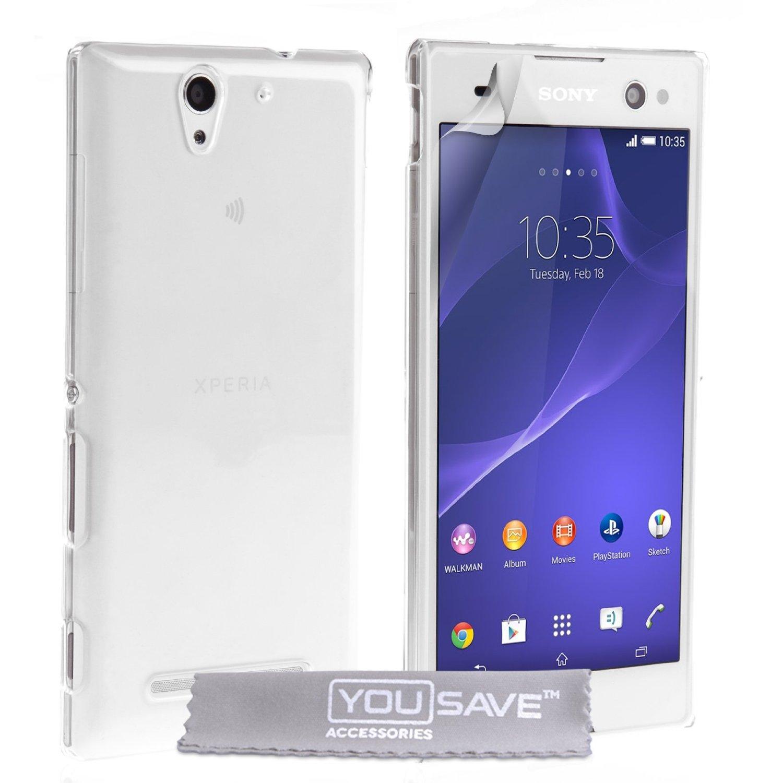 Διάφανη Θήκη Sony Xperia C3 by YouSave (Z696)