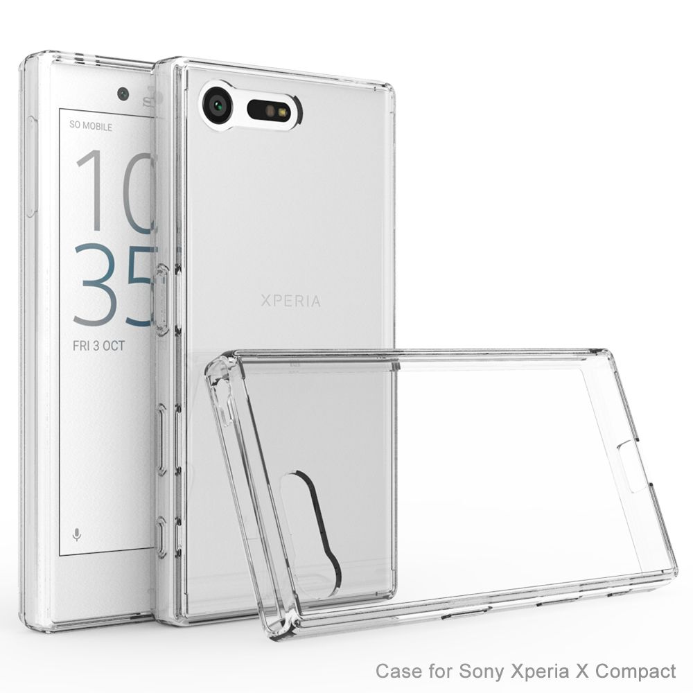 Θήκη Sony Xperia X Compact - Crystal Clear (9702) - OEM