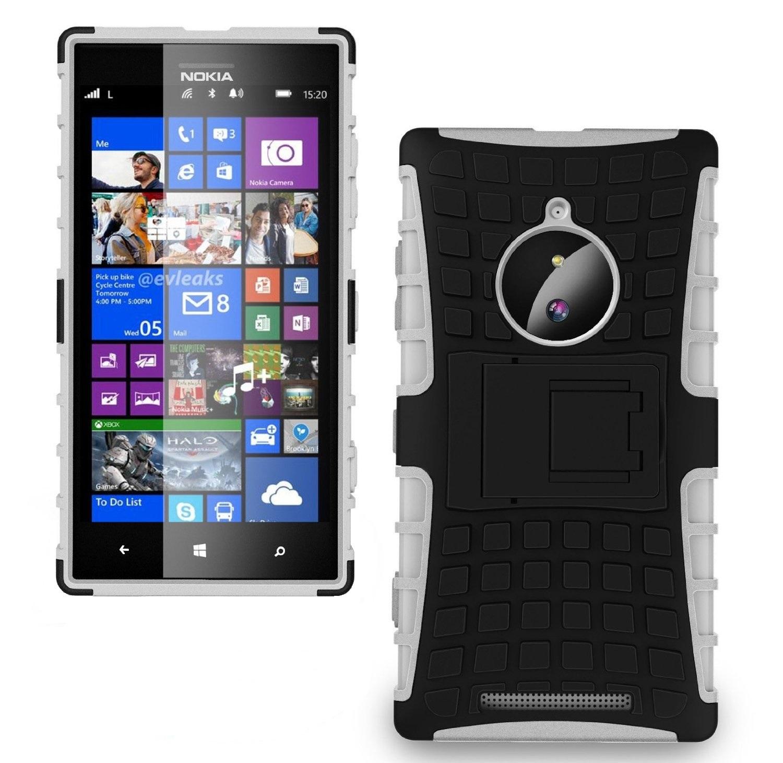 Ανθεκτική Θήκη Nokia Lumia 830 (031-001-832) Λευκό - OEM