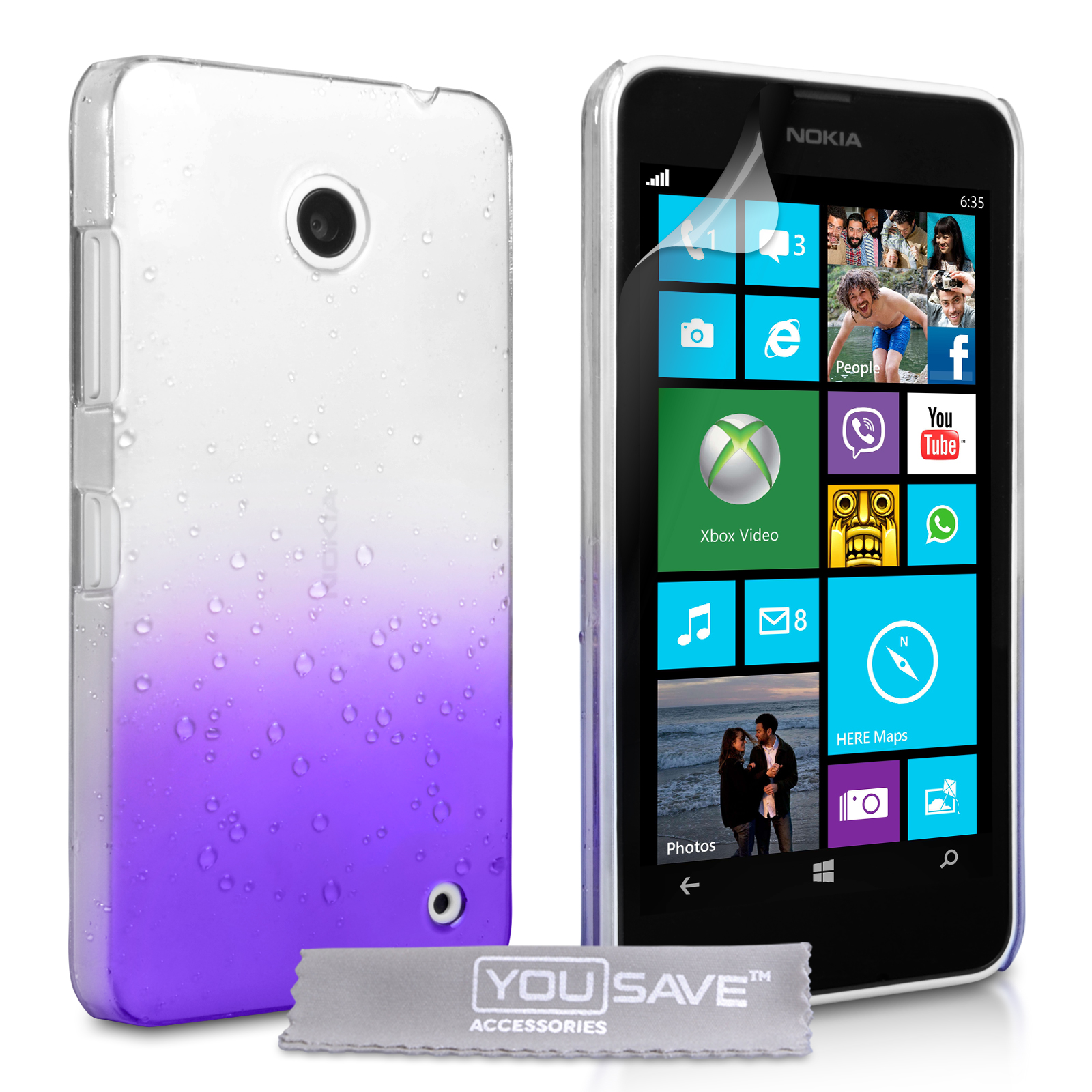 Θήκη Nokia Lumia 630/635 by YouSave (Z521)