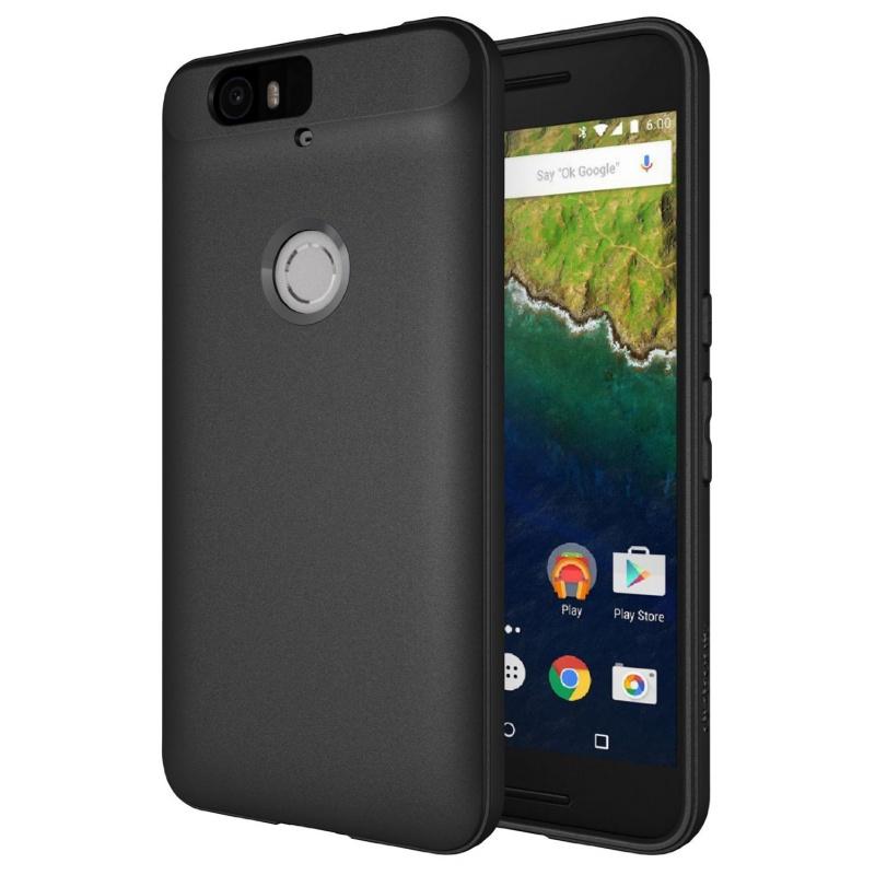 Diztronic Matte Θήκη Σιλικόνης Huawei Nexus 6P - Black (N6P-FM-BLK)