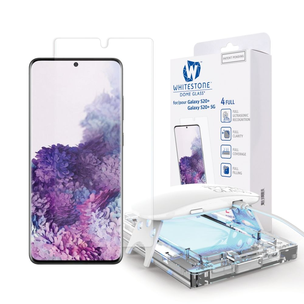 Whitestone Dome Glass - Liquid Optical Clear Adhesive & Installation Kit - Σύστημα Προστασίας Οθόνης Samsung Galaxy S20 Plus (63866)