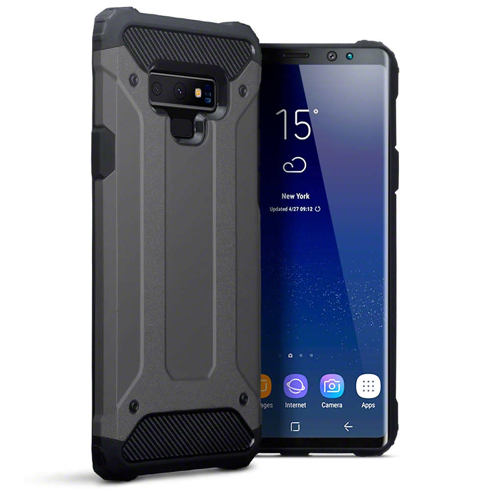 Terrapin Ανθεκτική Θήκη Impact Shock Samsung Galaxy Note 9 - Gunmetal (131-002-110)