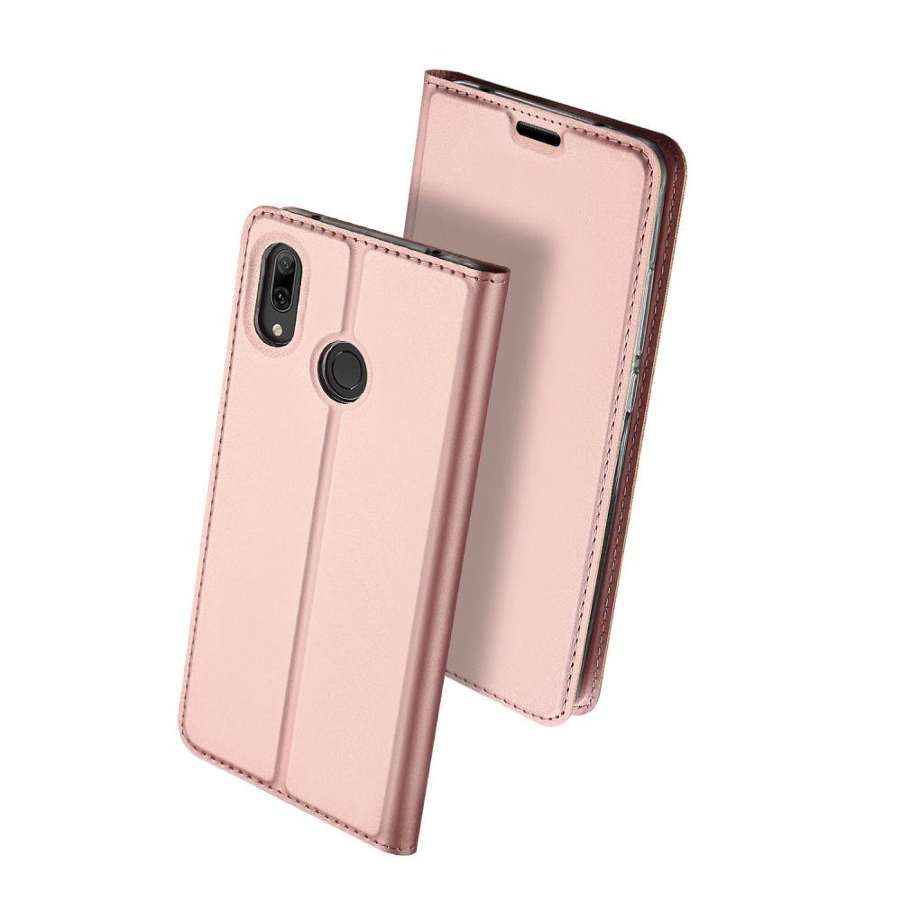 Duxducis Θήκη - Πορτοφόλι Huawei Y7 / Y7 Prime 2019 - Rose Gold (45743)