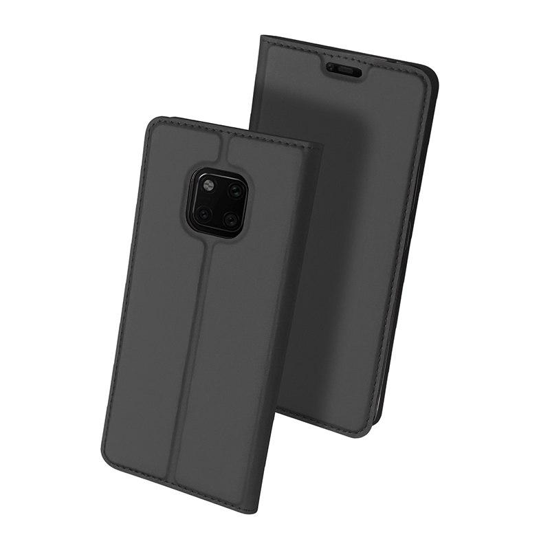 Duxducis Θήκη - Πορτοφόλι Huawei Mate 20 Pro - Gray (14363)