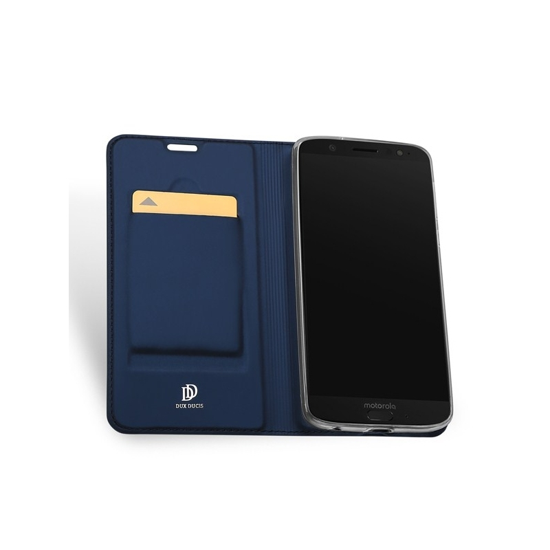 Duxducis Θήκη - Πορτοφόλι Motorola Moto G6 - Blue (13782)