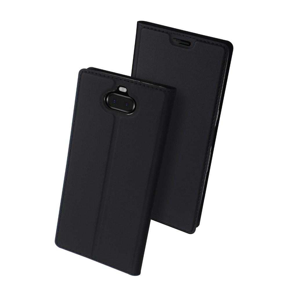 Duxducis SkinPro Θήκη Sony Xperia 10 - Black (46107)