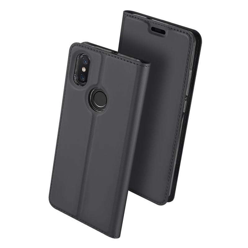Duxducis Θήκη - Πορτοφόλι Xiaomi Mi 8 - Gray (13750)