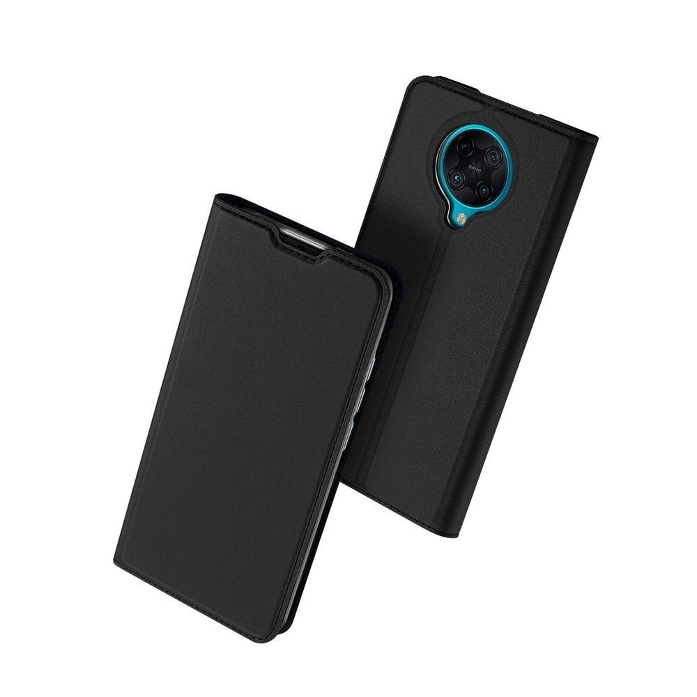 Duxducis SkinPro Θήκη Πορτοφόλι Xiaomi Poco F2 Pro - Black (66370)