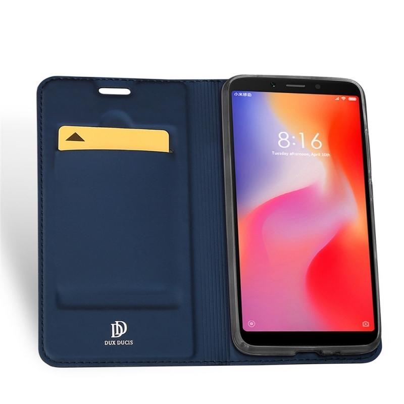 Duxducis SkinPro Flip Θήκη Xiaomi Redmi 6 - Blue (14019)