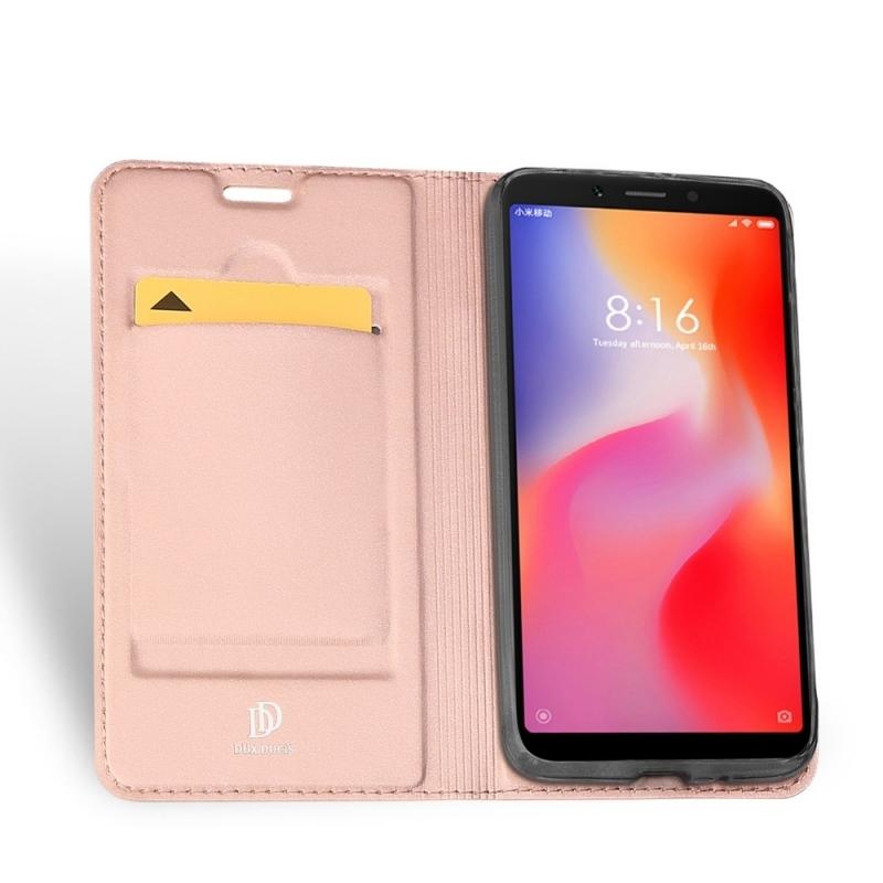 Duxducis SkinPro Flip Θήκη Xiaomi Redmi 6 - Rose Gold (14021)