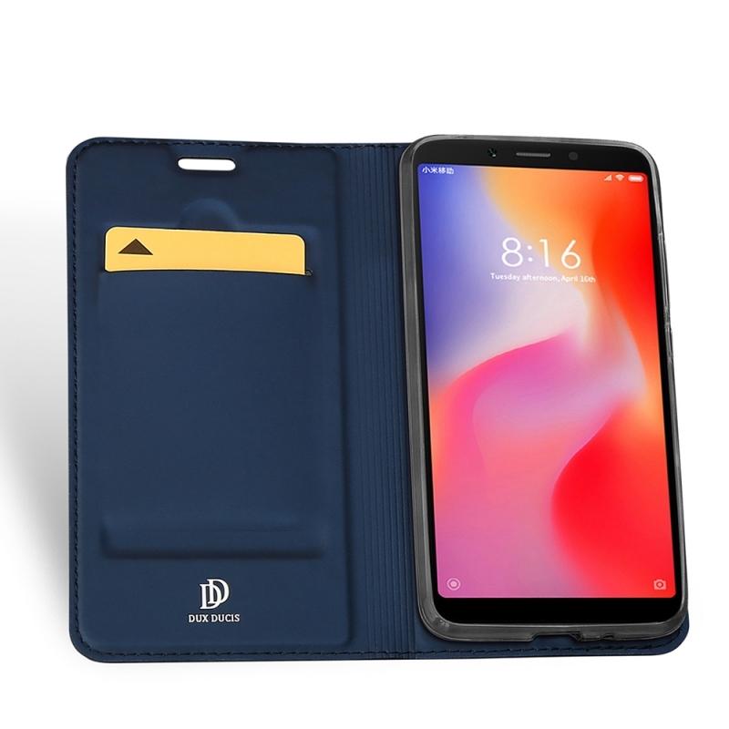 Duxducis SkinPro Flip Θήκη Xiaomi Redmi 6A - Blue (14020)