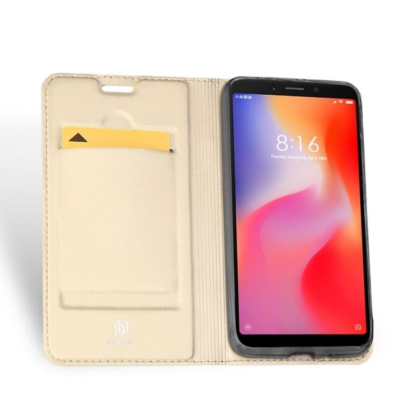 Duxducis SkinPro Flip Θήκη Xiaomi Redmi 6A - Gold (14024)