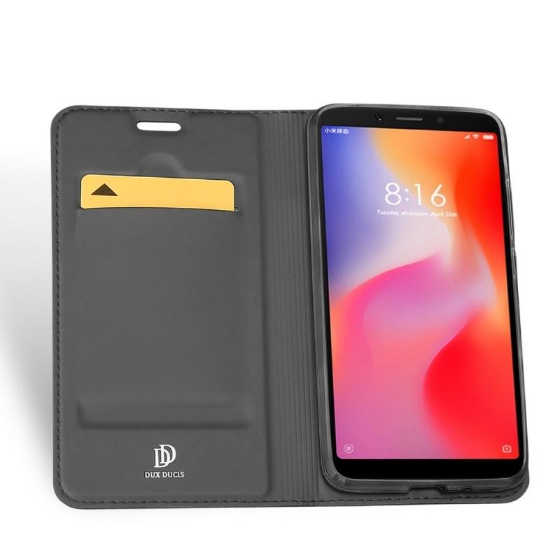 Duxducis SkinPro Flip Θήκη Xiaomi Redmi 6A - Gray (14025)