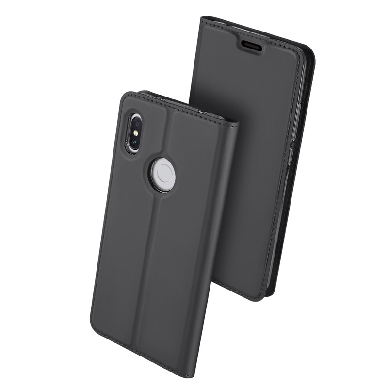 Duxducis SkinPro Flip Θήκη Xiaomi Redmi S2 - Gray (13771)