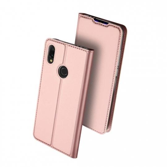 Duxducis Skin Θήκη Πορτοφόλι Xiaomi Redmi 7 - Rose Gold (48856)