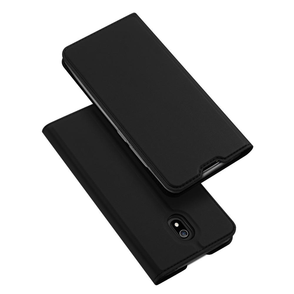 Duxducis SkinPro Θήκη Πορτοφόλι Xiaomi Redmi 8A - Black (55307)