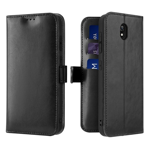 Duxducis Kado Series Θήκη Πορτοφόλι Xiaomi Redmi 8A - Black (62702)