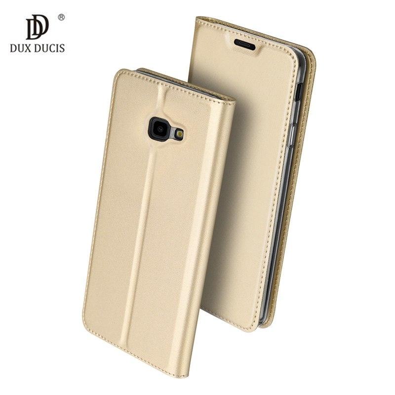 Duxducis Θήκη - Πορτοφόλι Samsung Galaxy J4 Plus 2018 - Gold (15004)