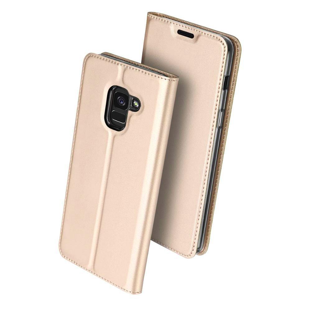 Duxducis Θήκη - Πορτοφόλι Samsung Galaxy J6 2018 - Gold (14711)