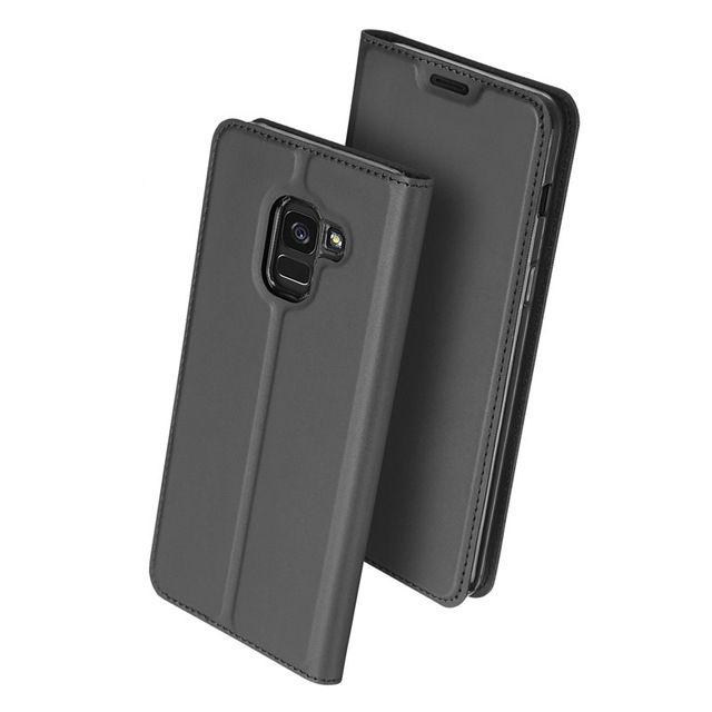 Duxducis Θήκη - Πορτοφόλι Samsung Galaxy J6 2018 - Gray (14712)