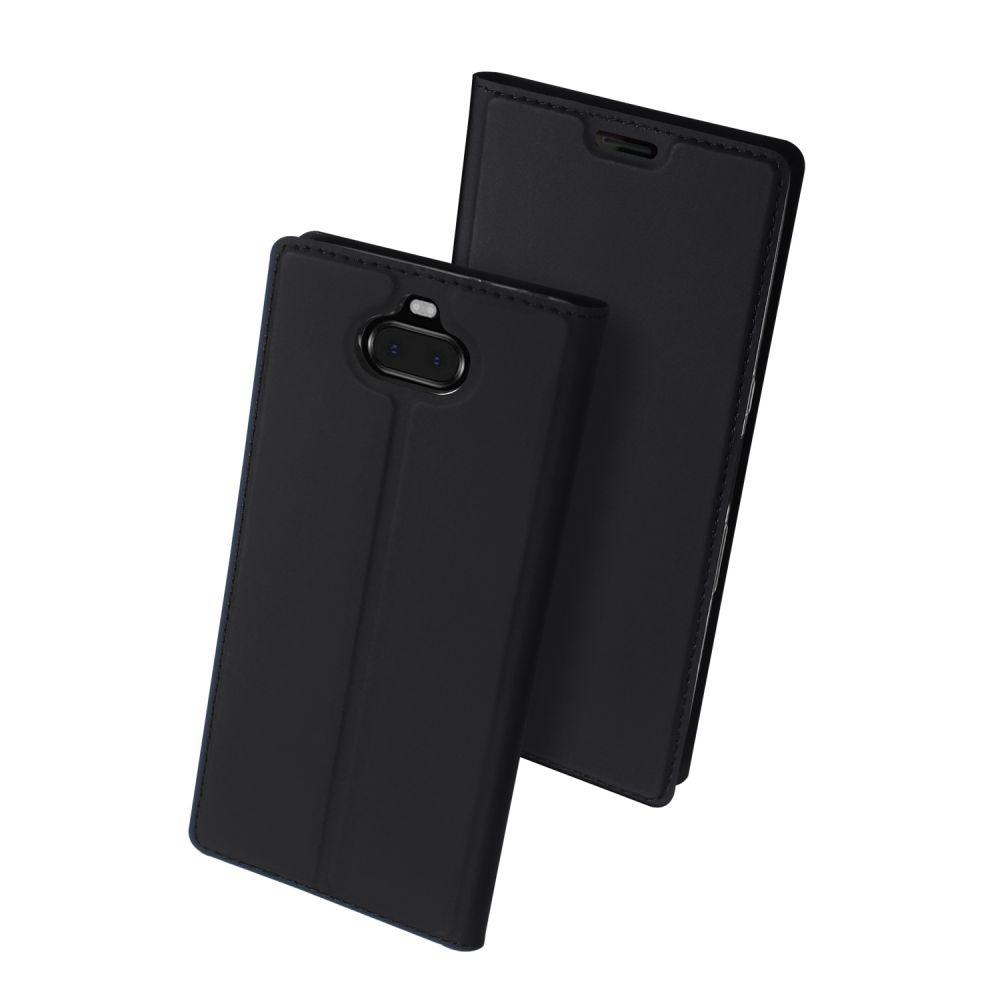 Duxducis Θήκη - Πορτοφόλι Sony Xperia 10 - Black (45769)