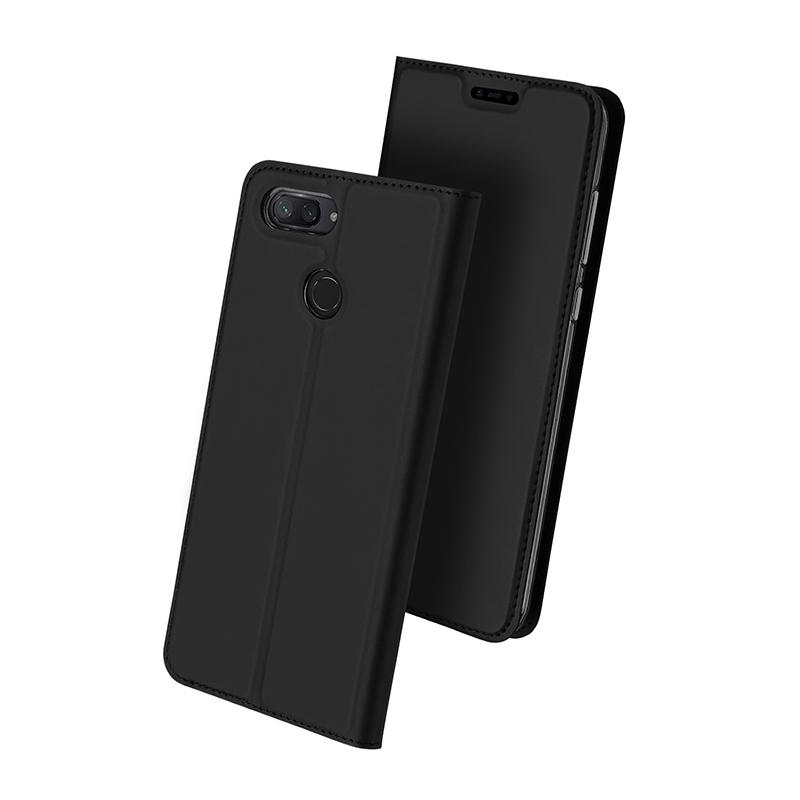 Duxducis Θήκη - Πορτοφόλι Huawei P Smart Plus - Grey (14696)
