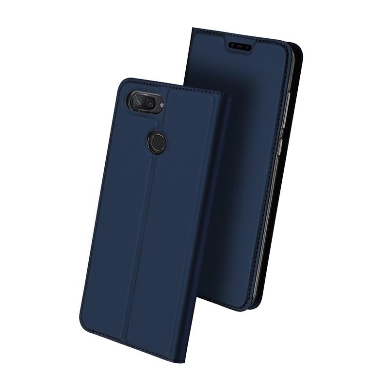 Duxducis Θήκη - Πορτοφόλι Xiaomi Mi 8 Lite - Blue (14693)