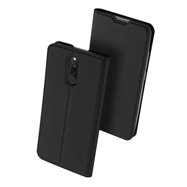 Duxducis SkinPro Θήκη Πορτοφόλι Xiaomi Redmi 8 - Black (58502)