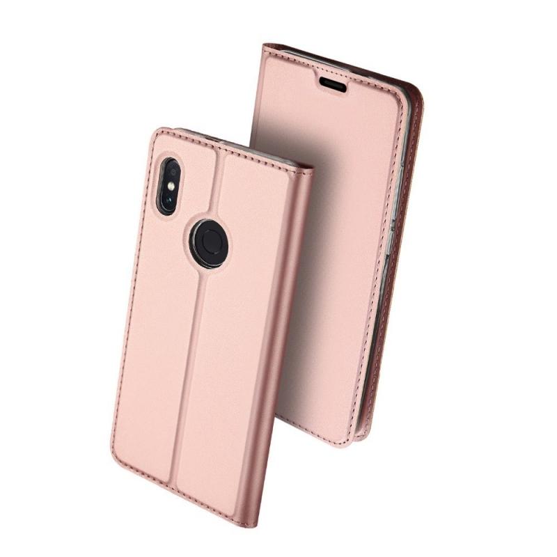 Duxducis Θήκη - Πορτοφόλι Xiaomi Redmi Note 6 Pro - Rose Gold (14382)