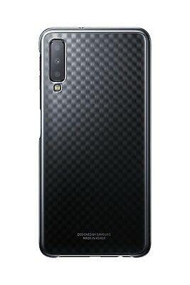 Samsung Official Ultra -Thin and Light Gradation Cover - Σκληρή Θήκη Samsung Galaxy A7 2018 - Gradient Black (EF-AA750CBEGWW)