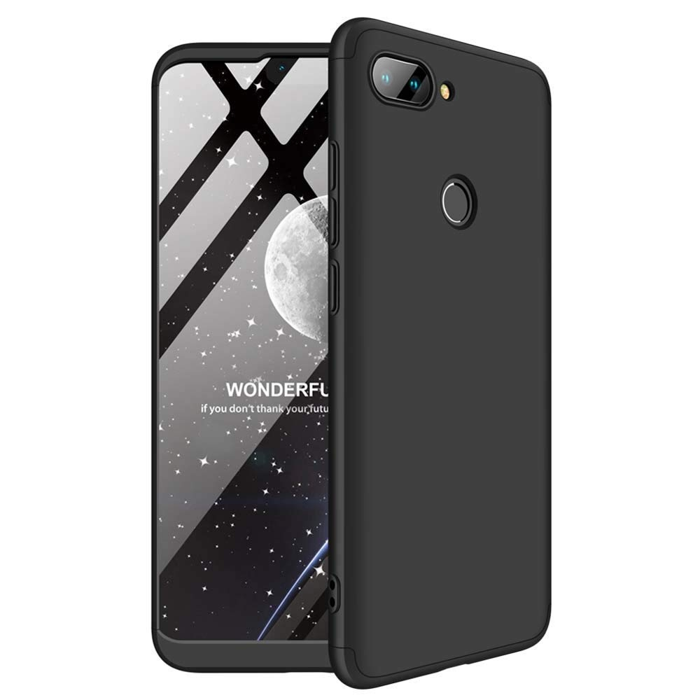 GKK Θήκη Hybrid Full Body 360° Xiaomi Mi 8 Lite - Black (47858)