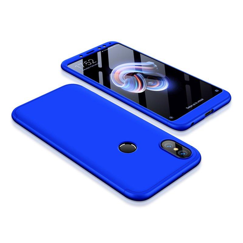 Θήκη Hybrid Full Body 360° Xiaomi Redmi Note 5 - Blue (13413) - OEM