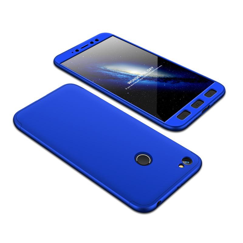 Θήκη Hybrid Full Body 360° Xiaomi Redmi Note 5A Prime - Blue (13463) - OEM