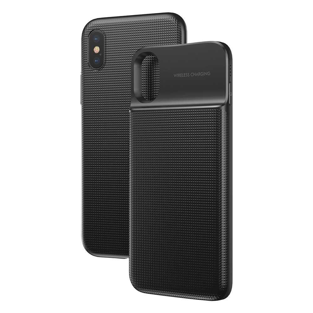 Baseus 1+1 Θήκη & Powerbank 5000mAh iPhone X / XS - Black (14252)