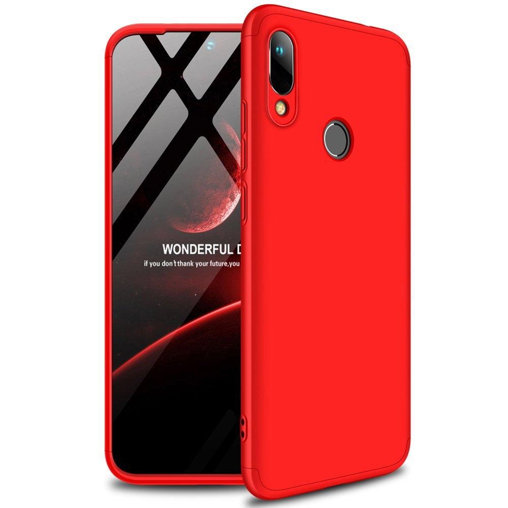 GKK Θήκη Hybrid Full Body 360° Huawei Y6 2019 - Red (51202)